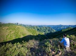 远眺东村风景
